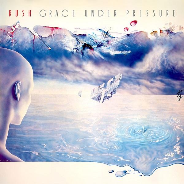 Rush Grace Under Pressure Album artwork