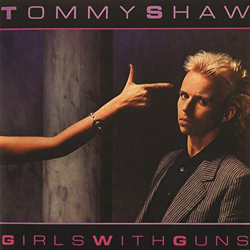 Tommy Shaw Girls With Guns album artwork
