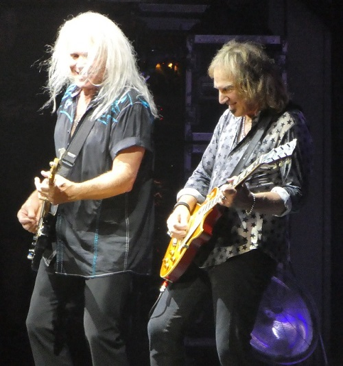 Bruce Hall and Dave Amato of REO Speedwagon