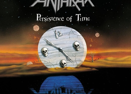Anthrax Persistence of Time album artwork