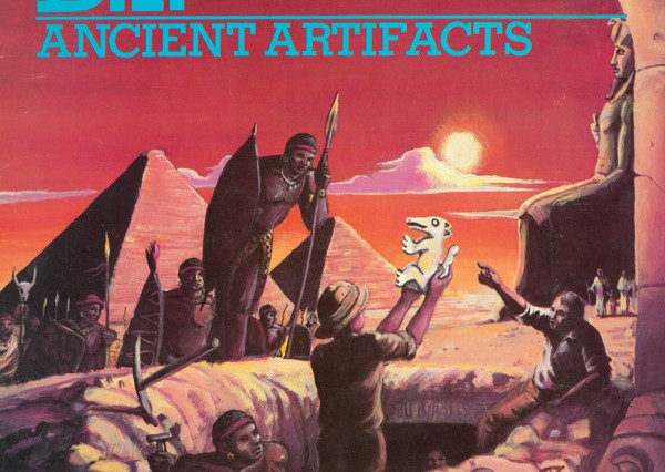 D.I. Ancient Artifacts album cover