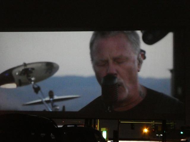 Metallica Drive-In Concert screen shot