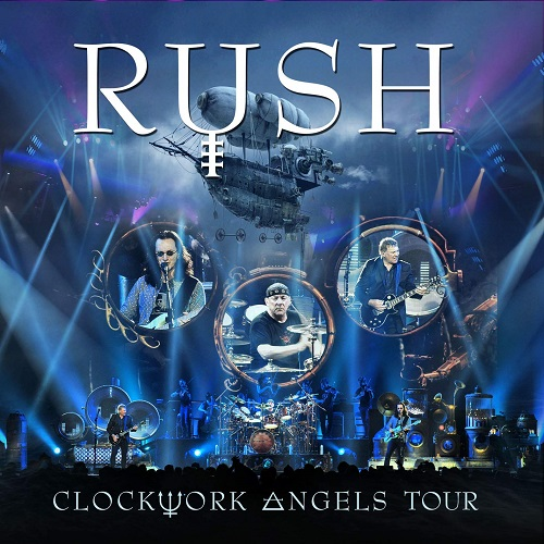 Rush Clockwork Angels Tour album artwork