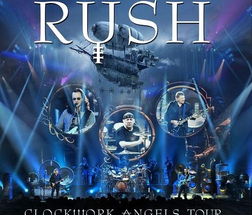 Rush Clockwork Angels Tour album artwork
