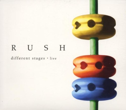 Rush Different Stages album artwork
