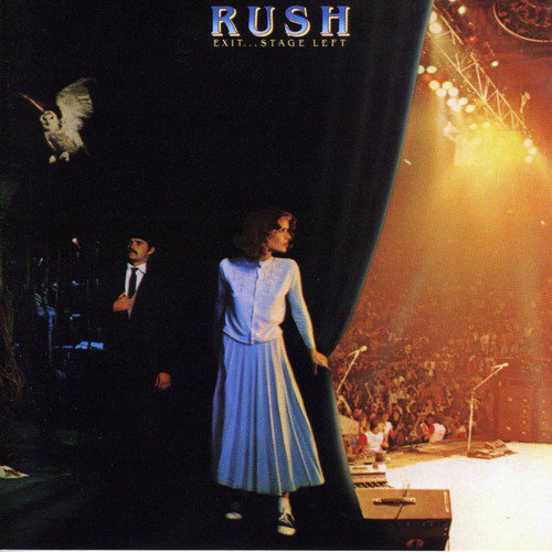 Rush Exit Stage Left album artwork