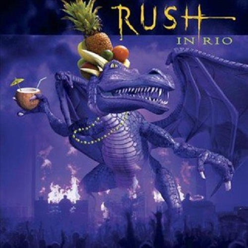Rush In Rio album artwork
