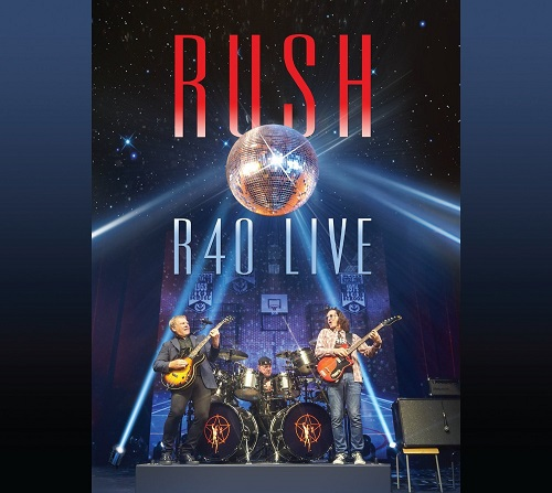 Rush R40 Live album artwork