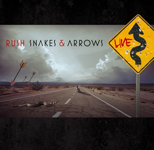 Rush Snakes and Arrows Live album artwork