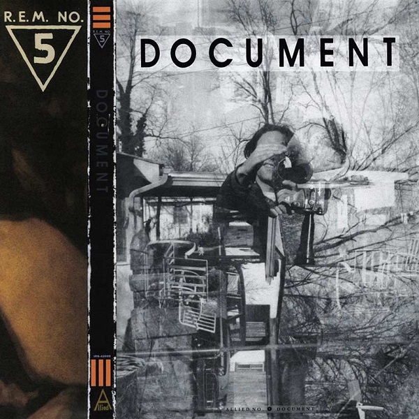 R.E.M. Document albbum artwork