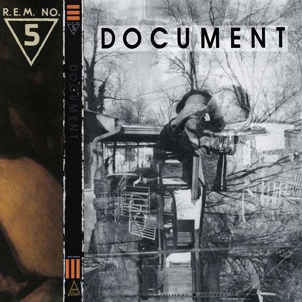 R.E.M. Document albbum artwork