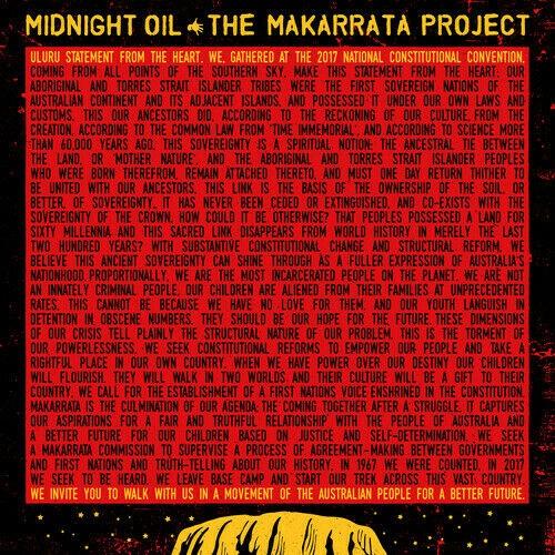 Midnight Oil The Marrkata Project Album cover