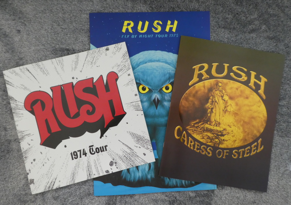 Rush Missing Tourbooks Collection