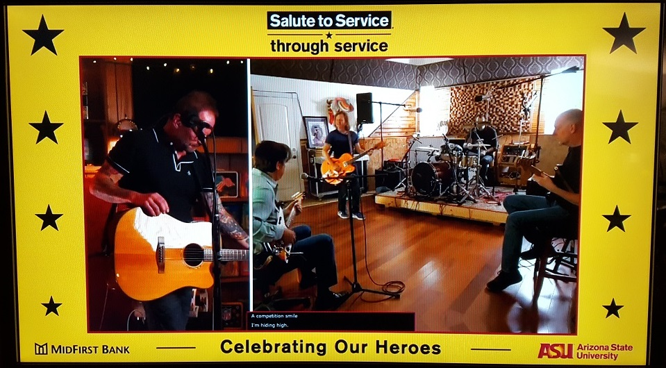 Gin Blossoms Salute to Service concert