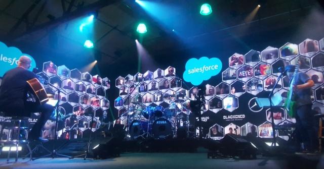 Photo of a livestream concert