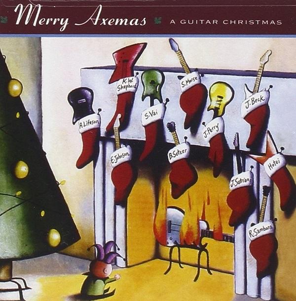 Album cover for Merry Axemas