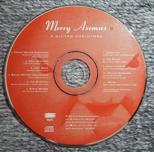 Merry Axemas CD