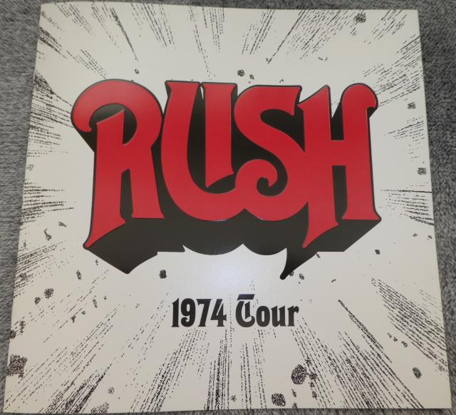Rush debut tour Tourbook