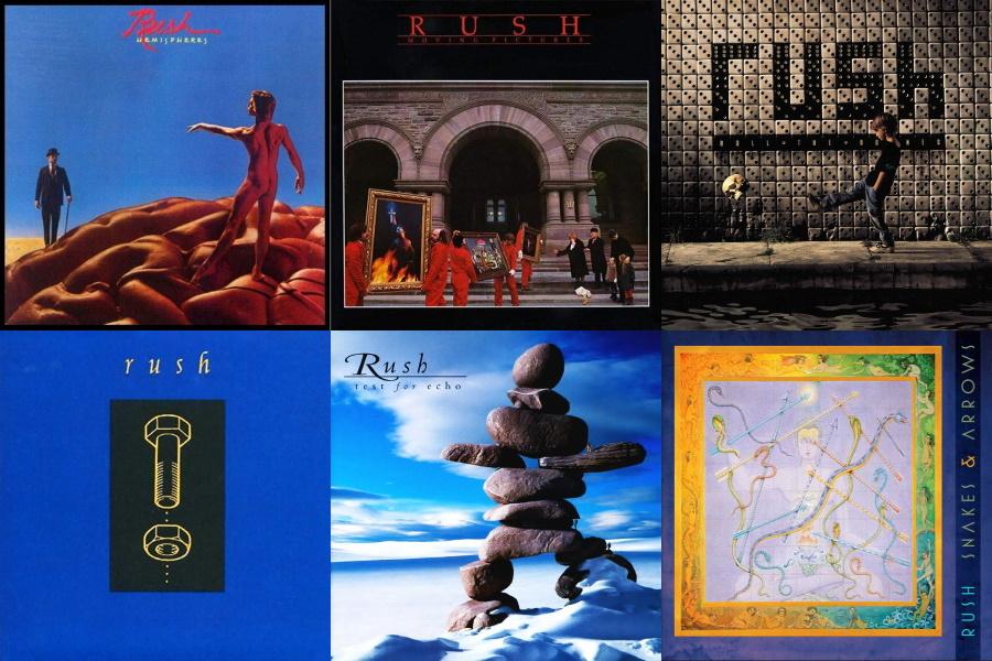 Rush Instrumental Songs