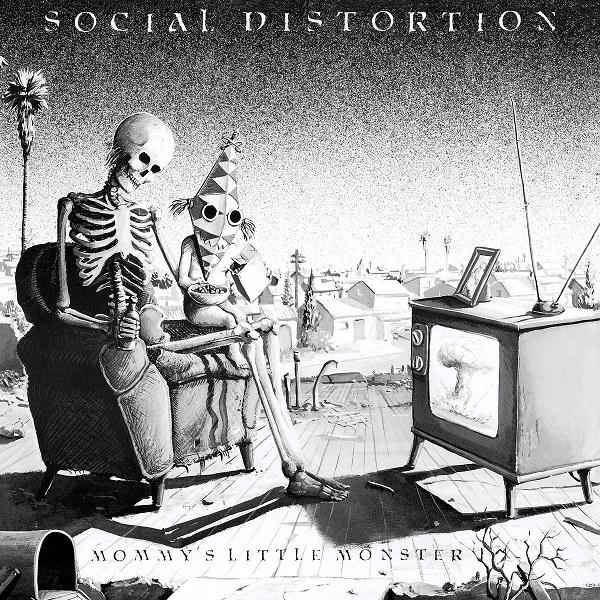Social Distortion Mommy's Little Monster album cover