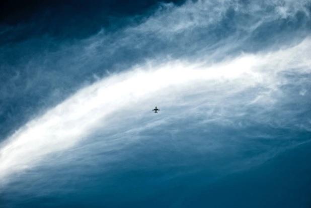 Flying to Rwanda