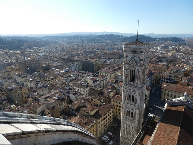 Giotto's Bell Tower in Florence, Italy