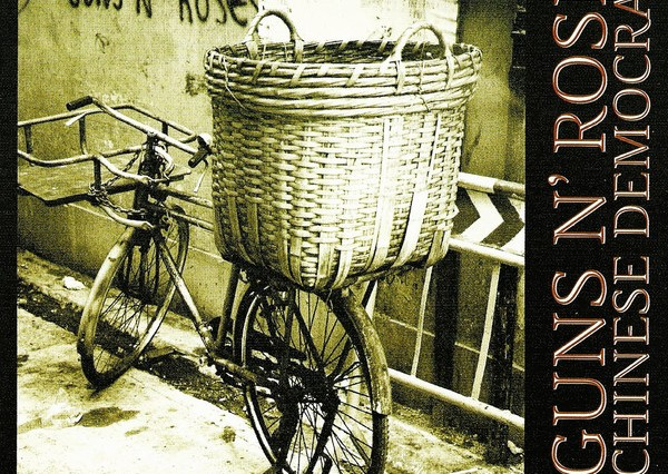 Guns N' Roses Chinese Democracy Album Cover