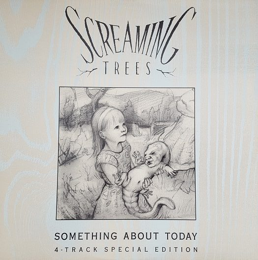 Screaming Trees Something About Today album cover