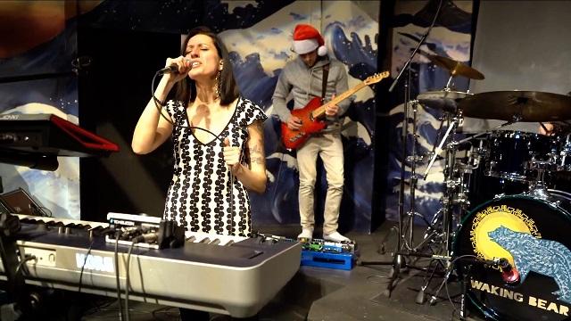 Singer Ivy Jordanne of Waking Bear