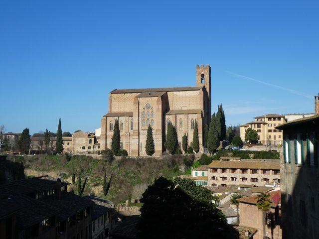 St. Catherine's Church in Siena, Italy