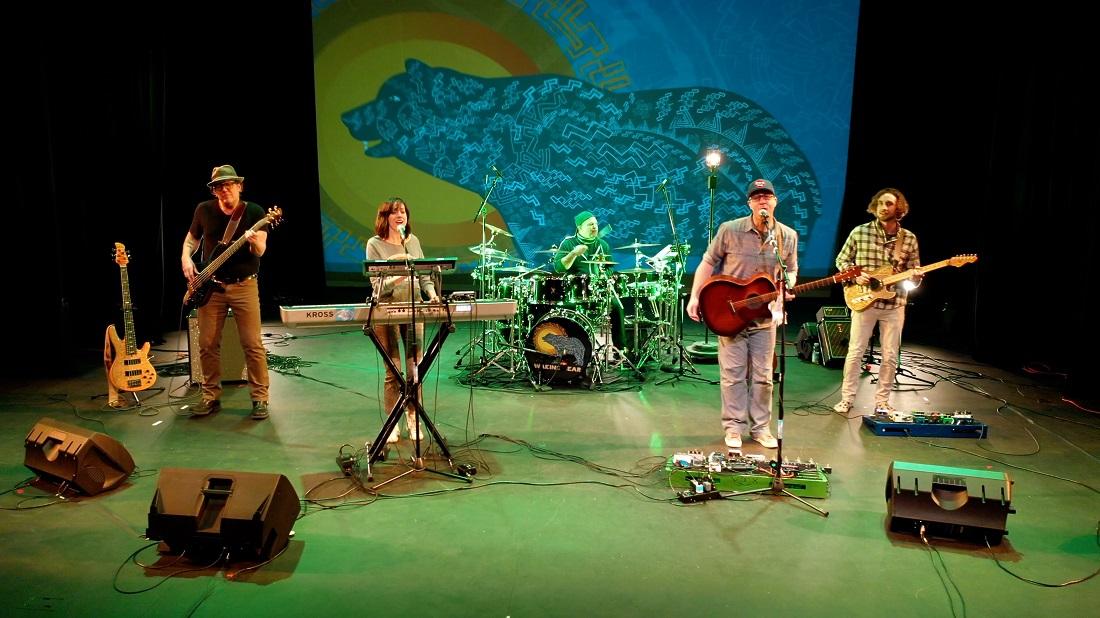 Indie-rock band Waking Bear