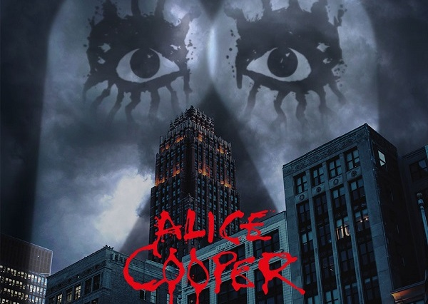 Album cover art for Alice Cooper Detroit Stories