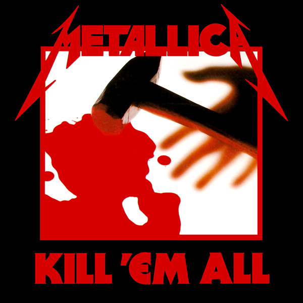 Metallica Kill 'Em All Album Cover