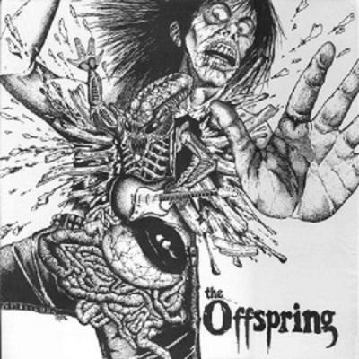 Original cover for The Offspring's first album