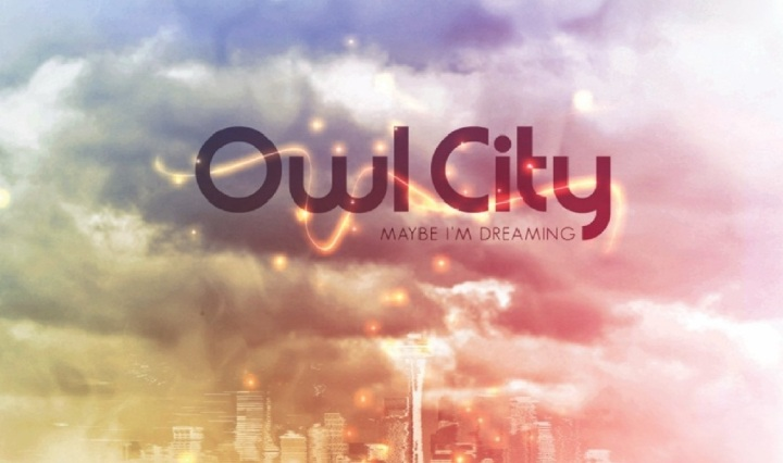 Album Cover for Owl City Maybe I'm Dreaming
