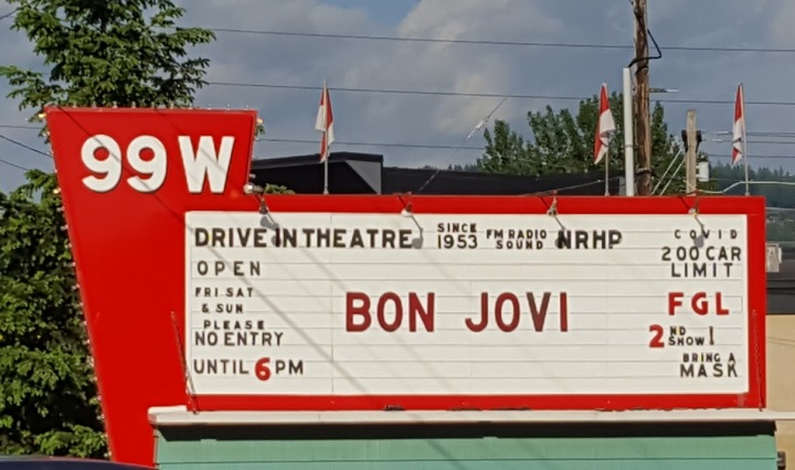 Review for Bon Jovi Drive-In Concert