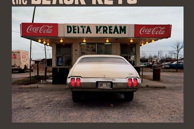 Album cover for the Black Keys Delta Kream