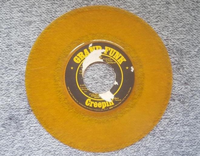 Grand Funk Railroad Creepin'45 single