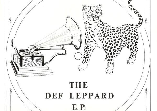 Album cover for def Leppar'd debut EP