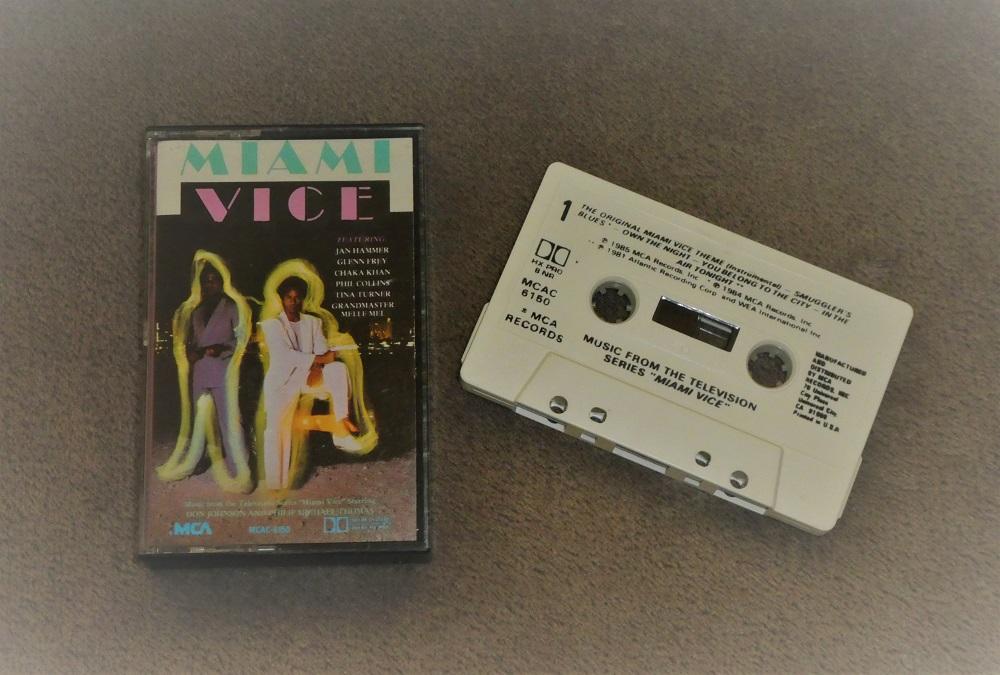 Miami Vice TV Soundtrack Album
