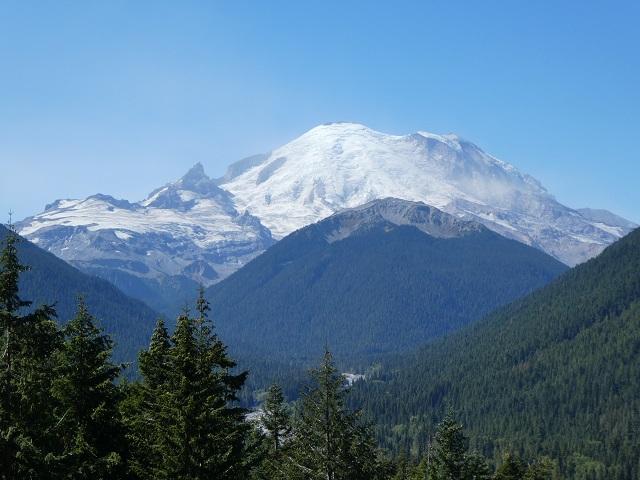 The North Face of Mount Rainier