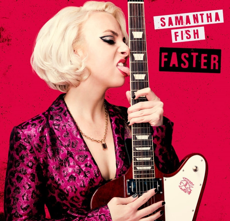 Album Cover for Samantha Fish Faster