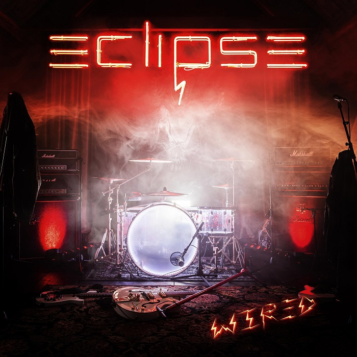 lbum cover for Eclipse Wired