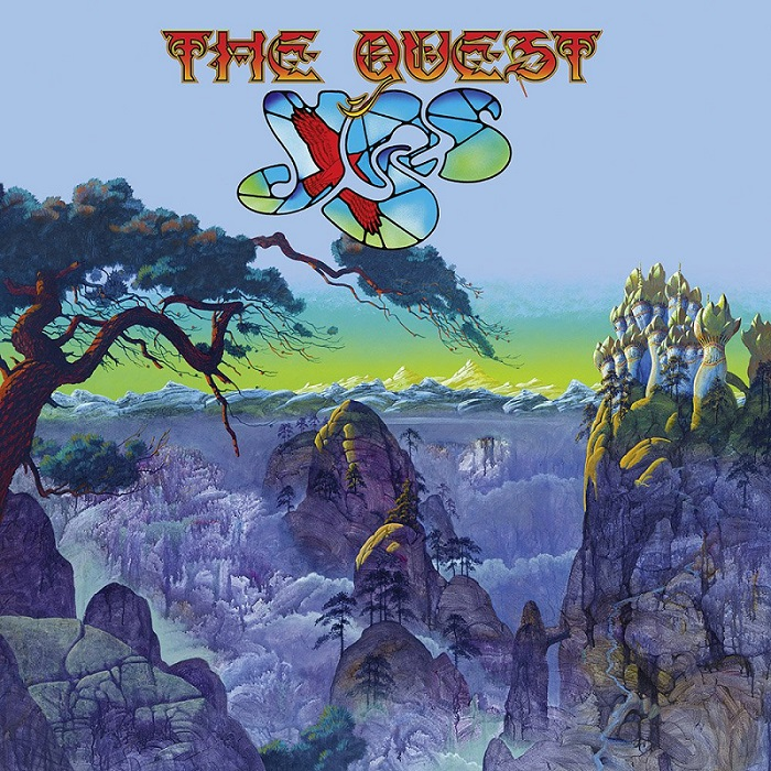 Album cover for Yes The Quest